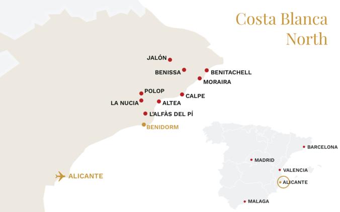 Costa Blanca North